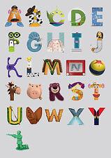 Toy Story Alphabet ABC TSA01 GIANT LARGE BIG WALL DECO Poster A0 A1,A2,A3,A4