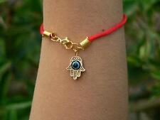 Kabbalah Red String w/Hamsa Hand&Evil Eye Kabbala Bracelet Judaica Wholesale Lot