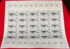 FSAT French Antarctic sheet 1984 Penguin #107 -110 TAAF