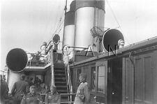 WWII German RP- Officer- Warship- Pistol Holster- Navy Signal Flasher- AA Gun
