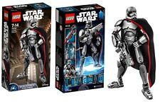 LEGO STAR WARS Captain Phasma 75118 Buildable Figures 26 CM Rare NEW
