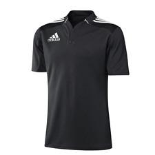 ADIDAS 3 STRIPE RUGBY JERSEY S-XL NEU 50€ T POLO SHIRT Funktionsshirt all blacks