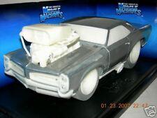 66 PONTIAC GTO, RAW LIM.EDIT M.I.B. MUSCLE MACHINE 1:18