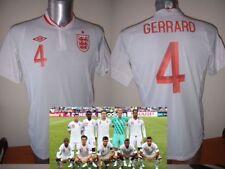 ENGLAND GERRARD Terry M L XL Nuova con etichetta calcio in Camicia Liverpool Jersey UMBRO
