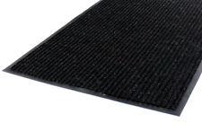 Schmutzfangmatte gerippt Sauberlauf Fußmatte Fußabtreter schwarz mit Rand