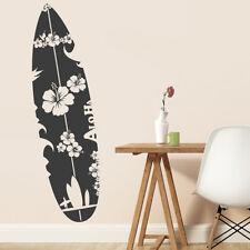 Wandtattoo Surfbrett, Hawaii, Wandsticker, Wandaufkleber, Wanddekoration