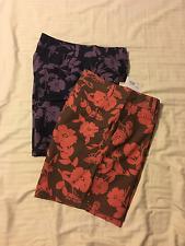 Croft & Barrow: Women Linen Blend, Trouser Style Casual Shorts: Grape or Coral