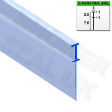 Sello de canal de goma suave de Fondo Doble Pliegue Pliegue Baño Ducha Plegable puerta de pantalla