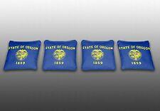 Oregon State Flag Specialty Custom Cornhole Bags-Set of 4-Baggo-Corn