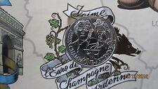 """PIECE  DE 10 EUROS DES REGIONS """" PERSONNAGES"""" / 2012 / CHAMPAGNE-ARDENNE"""