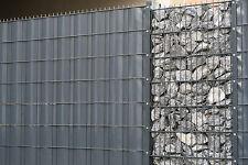 Sichtschutz für Doppelstabmattenzaun PVC Sichtschutzrolle Sichtschutzstreifen