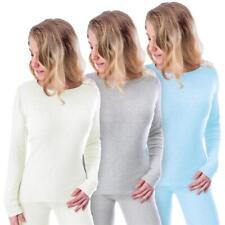 Damen Thermohemd Langarmhemd warm weich Skiunterhemd Unterwäsche Ski Snowboard