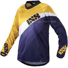 IXS resun camiseta downhill bicicleta BMX manga larga enduro mountainbike camisa freeride
