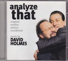 ANALYZE THAT david holmes  - o.s.t. CD