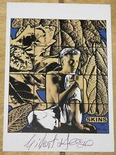 Gilbert & y George ~ pieles 1986 ~ Raro firmada a mano exposición Arte Postal