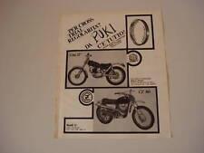 advertising Pubblicità 1970 MONTESA COTA 247/CZ 360