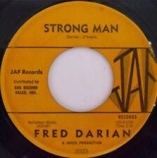 R&B POPCORN ~ FRED DARIAN ~ STRONG MAN on JAF ~ HEAR IT
