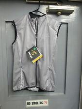 SHOWERS PASS Tri Vest Mens Size Medium Style 1174 Color SLTE Cycling Jacket Bike