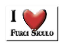 CALAMITA SICILIA FRIDGE MAGNET MAGNETE SOUVENIR LOVE FURCI SICULO (ME)