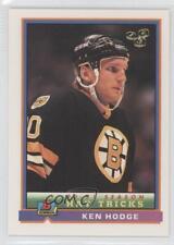 1991-92 Bowman #347 Ken Hodge Jr Boston Bruins Jr. Rookie Hockey Card