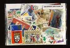 GRANDE BRETAGNE Commémor. - GREAT BRITAIN Large de 50 à 100 timbres différents