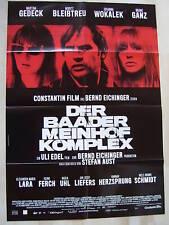 DER BAADER MEINHOF KOMPLEX - Filmplakat A1 - Motiv 1