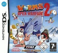 Nintendo DS 3ds Worms Open Warfare 2 * tedesco * COME NUOVO