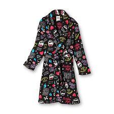 Monster High Bathrobe Bath Robe Pajama Girl Size M7/8 L10/12
