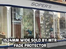Shopfront Fade/Sun Damage Protector Window Film - Stop Sunfade - Sold Mtr - DIY
