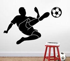 Wandtattoo Wandsticker Wandaufkleber Kinderzimmer Fußballspieler Fußball W3180