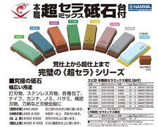 JAPANESE Naniwa Ebi Chosera ceramic whetstones 10K Uchigumori + Nagura stone