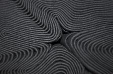 Molton GP 8,90 €/m schwarz 3 m breit Bühnenmolton FR B1 Raumhöhe Fotostudio