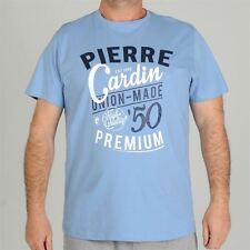 """Pierre C Applique T Shirt Mens (Big size) 3XL-6XL  Exc quality  (Fit 49-62"""")"""