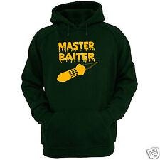 MASTER BAITER HOODIE ALL SIZES + COLS (Gildan Brand carp fishing bait spod rod)
