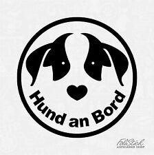 Auto Aufkleber Hund an Bord Tier Sicherheit sticker