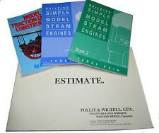 New steam railway steam models engineering books direct from Myford ltd