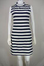 FRENCH CONNECTION NEW White Ivory Women's  Stripe Sheath Dress $121