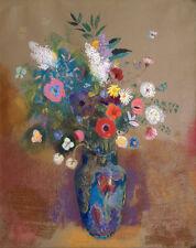 "Odilon Redon : ""Bouquet of Flowers"" (c.1905) — Giclee Fine Art Print"