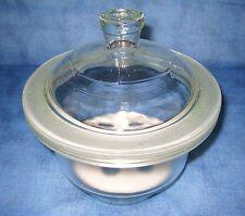 Exsikkator 100 mm mit Exsikkatorenplatte aus Porzellan (Porzellaneinsatz)