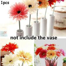 Floral Sunflower Wedding Decoration Flower Heads Artificial Gerbera Flowers NEW