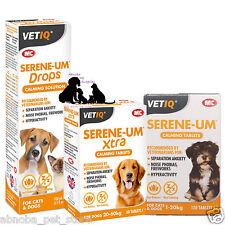VETIQ Serene-UM Calming Solutions Dog Cat Vet Recommends Noise Phobias Anxiety