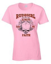 Rude Girl Music T-Shirt Mod Reggae 2-Tone 70's 60's Rudegirl Skin Head Skinhead