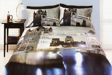 London Bridge Quilt Doona Duvet Cover Set Bedding UK British Travel City Britain