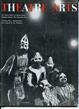 James Earl Jones The Blacks Hume Cronyn July 1961 Theatre Arts Monthly Magazine
