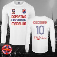 Pablo Escobar Medellín largo sleeveT-Camisa, fútbol, fútbol, narcos, Regalo
