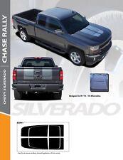 2016-2018 Chevy Silverado Chase Rally Stripe Kit