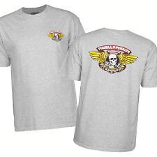 Bones Winged Ripper Powell Peralta T-Shirt Grey Skull OG Skateboard Many Sizes