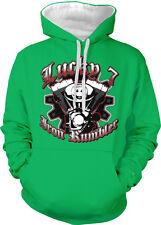 Lucky 7 Iron Rumbler Seven Hot Rod Car Engine Muscle Two Tone Hoodie Sweatshirt