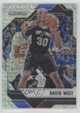 2016-17 Panini Prizm Mojo #288 David West San Antonio Spurs Basketball Card