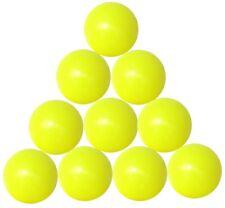 10 palline calcio balilla gialle FAS - GA19GI